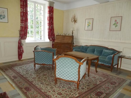Château de la prade: Reception area