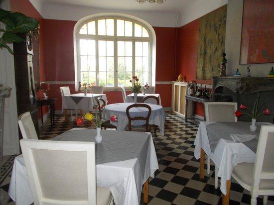 Chateau de la prade: Dining area
