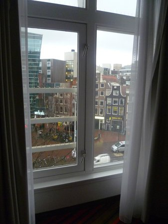 WestCord City Centre Hotel Amsterdam: From our window