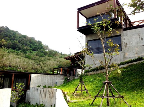 The Naka Phuket: pick the hillside villas on the slope facing west for maximum privacy
