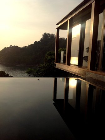 The Naka Phuket: your private infinity pool and villa hovering above the trees