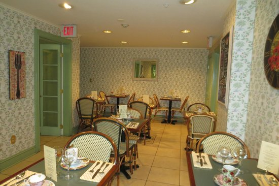Rittenhouse 1715, A Boutique Hotel: Part of breakfast room