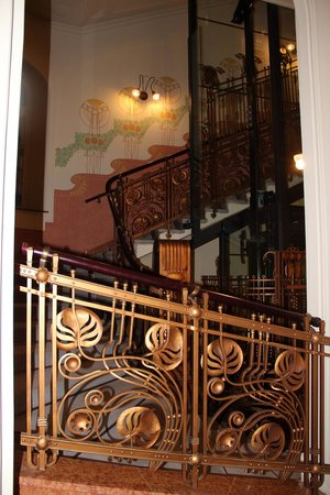 K+K Hotel Central : escaliers
