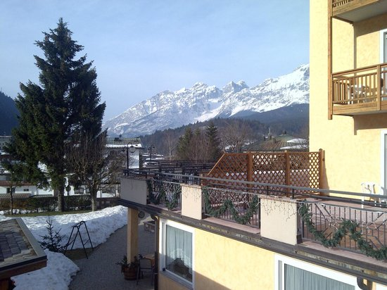 Dolomiti Hotel Olimpia: panorama dalla mia stanza