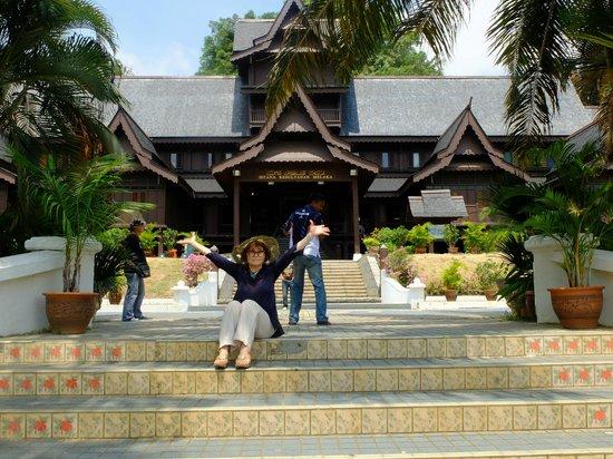 Malacca Sultanate Palace: 建物は素敵☆