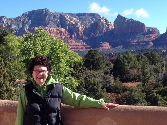 Best Western Plus Inn of Sedona: The view outside our room!!!!