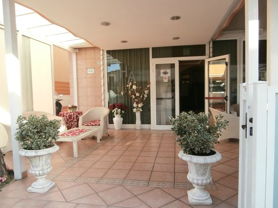 Hotel Aurelia: ingresso