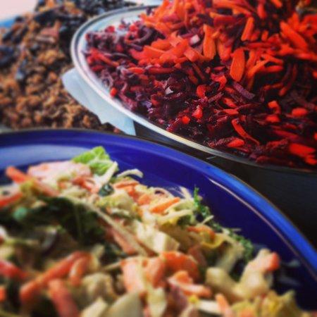 Vicki's at Newquay Kitchen: A few of Vicki's BIG Salads