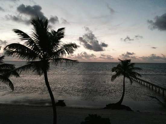 Casa Paraiso: Sunrise view from our room