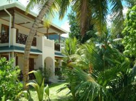 Indian Ocean Lodge : Schöne Zimmer