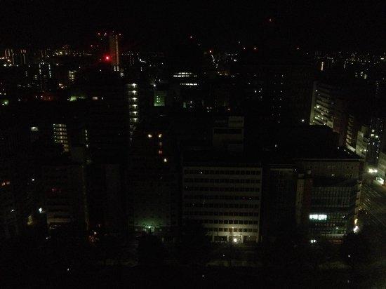 ANA Crowne Plaza Hiroshima : Panorama notturno