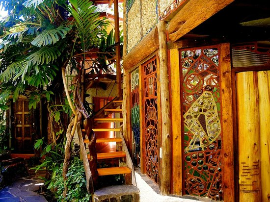 Lush Atitlan/Hotel Aaculaax: outside