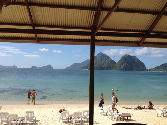 The Beach Shack : View from the cafe
