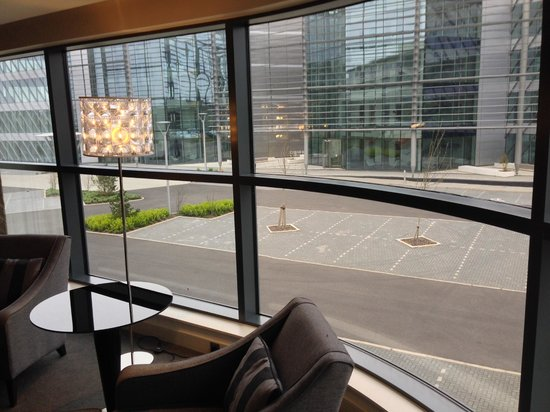 Brooklands Hotel: View from bedroom