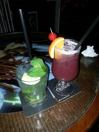 Rock Café Fuerteventura: Sex on the beach & mojito