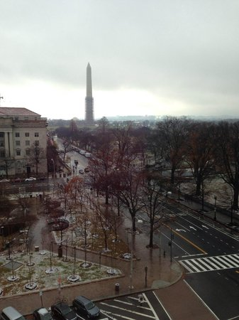 W Washington D.C.: Lovely view from living area in a suite