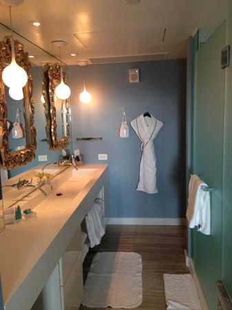 W Washington D.C.: Huge stylish bathroom