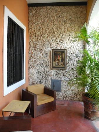 Hotel Hacienda VIP: Terasse