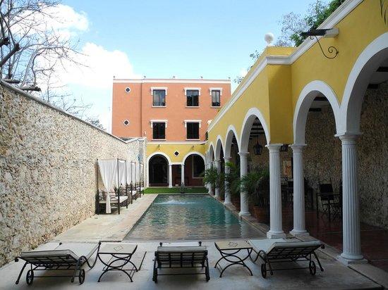 Hotel Hacienda VIP: Blick von unserer Terasse