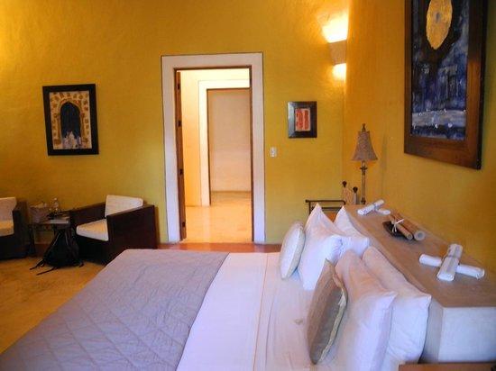 Hotel Hacienda VIP: Blick zum Bad