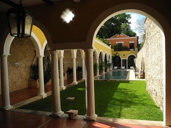 Hotel Hacienda VIP: Innenhof mit Pool