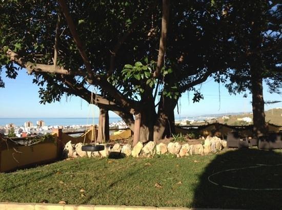 Hotel Rural Cortijo Amaya: uitzicht op Torrox Costa