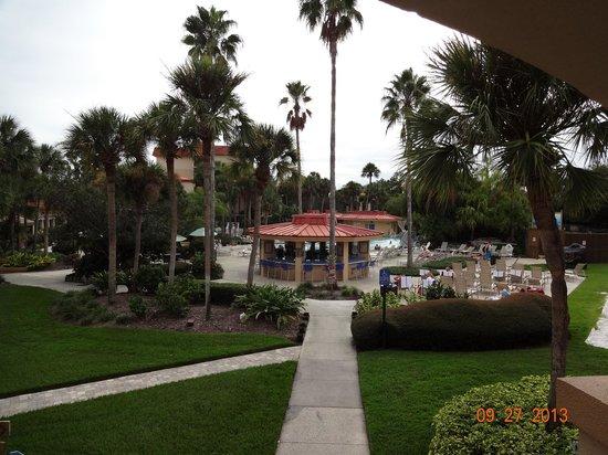 International Palms Resort & Conference Center: vista do quarto