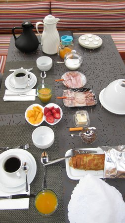 Cerro Da Borrega : Breakfast