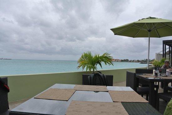 Sonesta Great Bay Beach Resort, Casino & Spa: View from Bayside Restaurant
