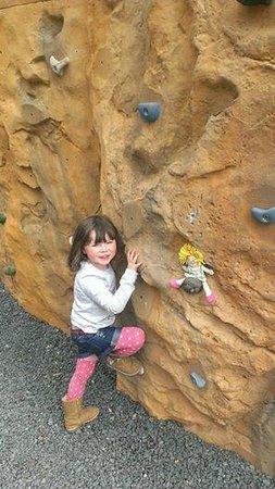 SKYTrek: Emma climbing