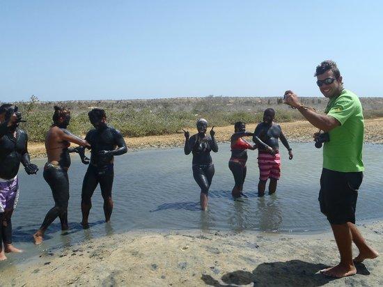 Isla Cubagua : Barro terapia Isla de Cubagua
