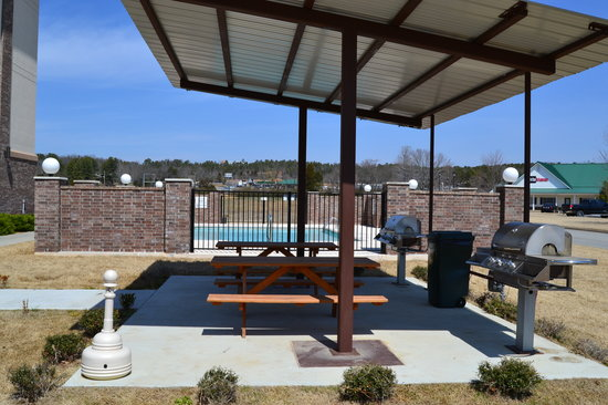Holiday Inn Express & Suites Heber Springs: Grill Area