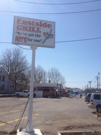 Eastside Grill: On the corner of Route 54 & 14A across from the Best Western