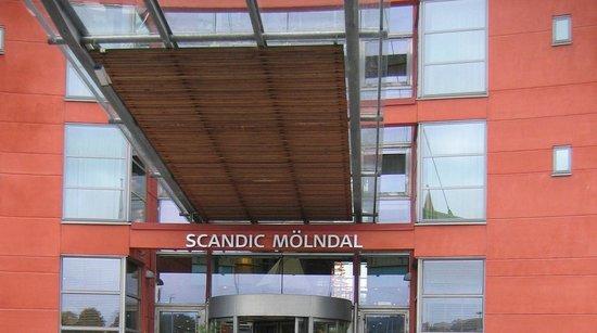 Scandic Molndal: вход