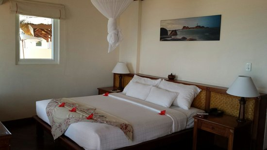 Victoria Phan Thiet Beach Resort & Spa : Our beautiful beach front bungalow no. 22