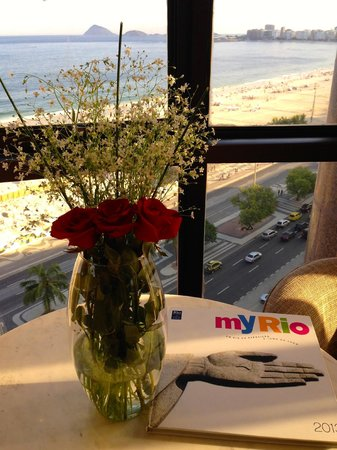 Porto Bay Rio Internacional Hotel: They put fresh roses in our room!