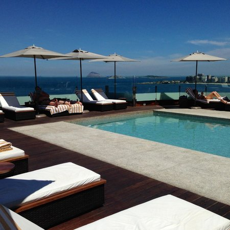 Porto Bay Rio Internacional Hotel: Rooftop pool