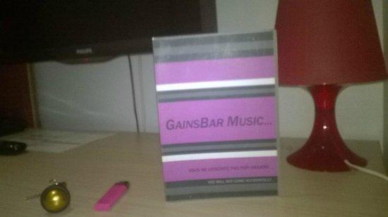 Music Hotel: La carte