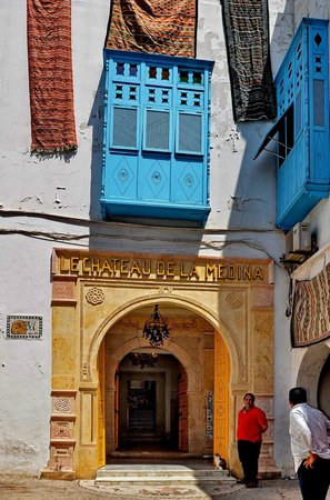 "Medina von Tunis: Ingresso al ""Castello della Medina""..."