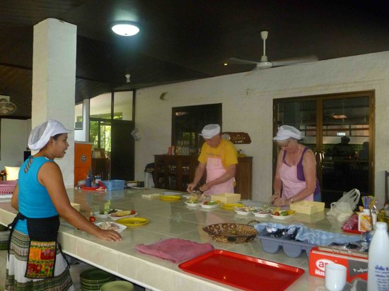 Chiang Mai Bicycle : Cookery lesson