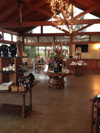 Calcareous Vineyard: Reception area