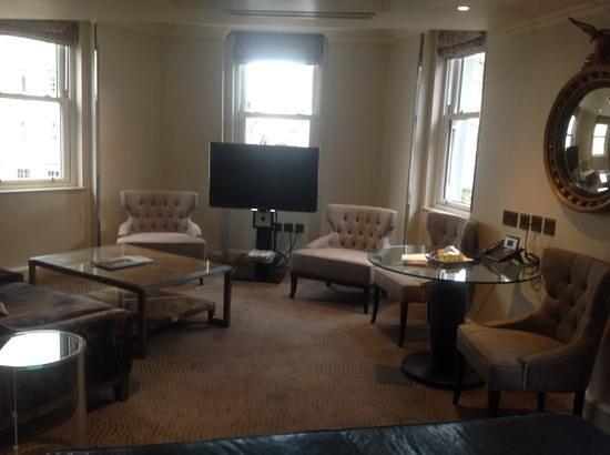 Radisson Blu Edwardian Mercer Street Hotel: Big lounge