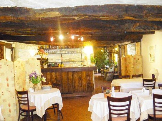 Auberge Hôtel-Restaurant Le Ratelier : sympa ce coin bar