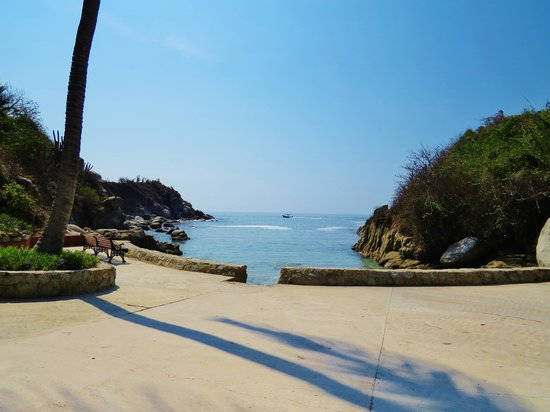Las Brisas Huatulco: Secret beach
