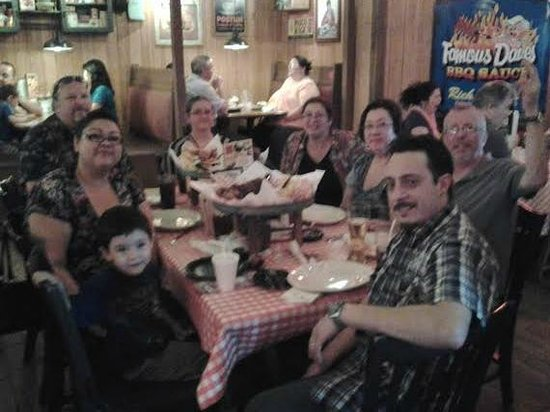 Famous Dave's : Our Feasts just served
