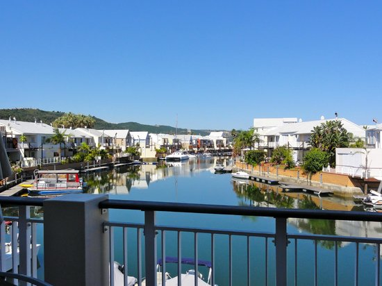 Knysna Quays Accommodation: View from our balcony