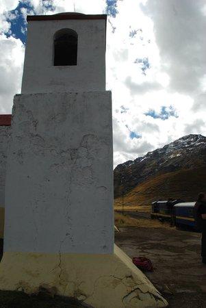 PeruRail Andean Explorer: Church at La Raya