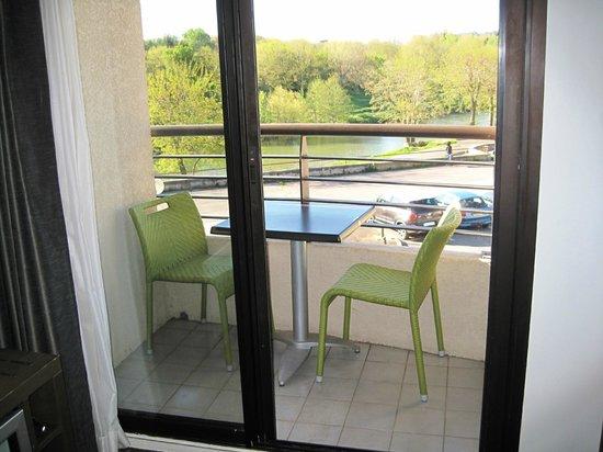 Hotel des Trois Couronnes : Balkon