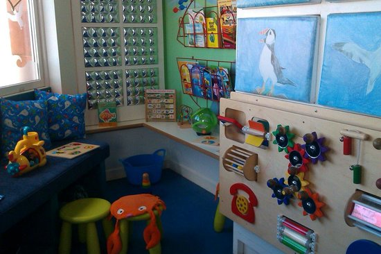 Scottish Seabird Centre: One of the kids areas