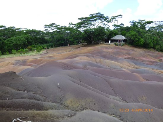 Seven Colored Earths: viewing point